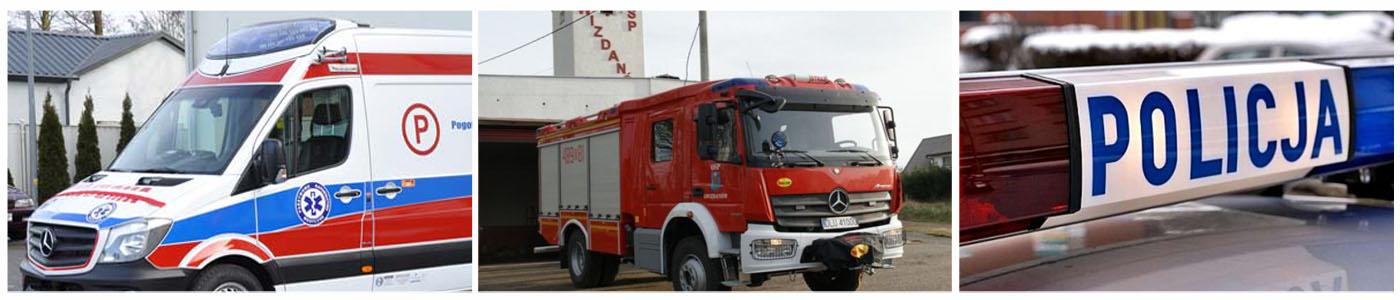 Pojazdy służb ratowniczych