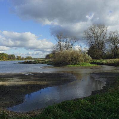 Widok na zakola rzeki