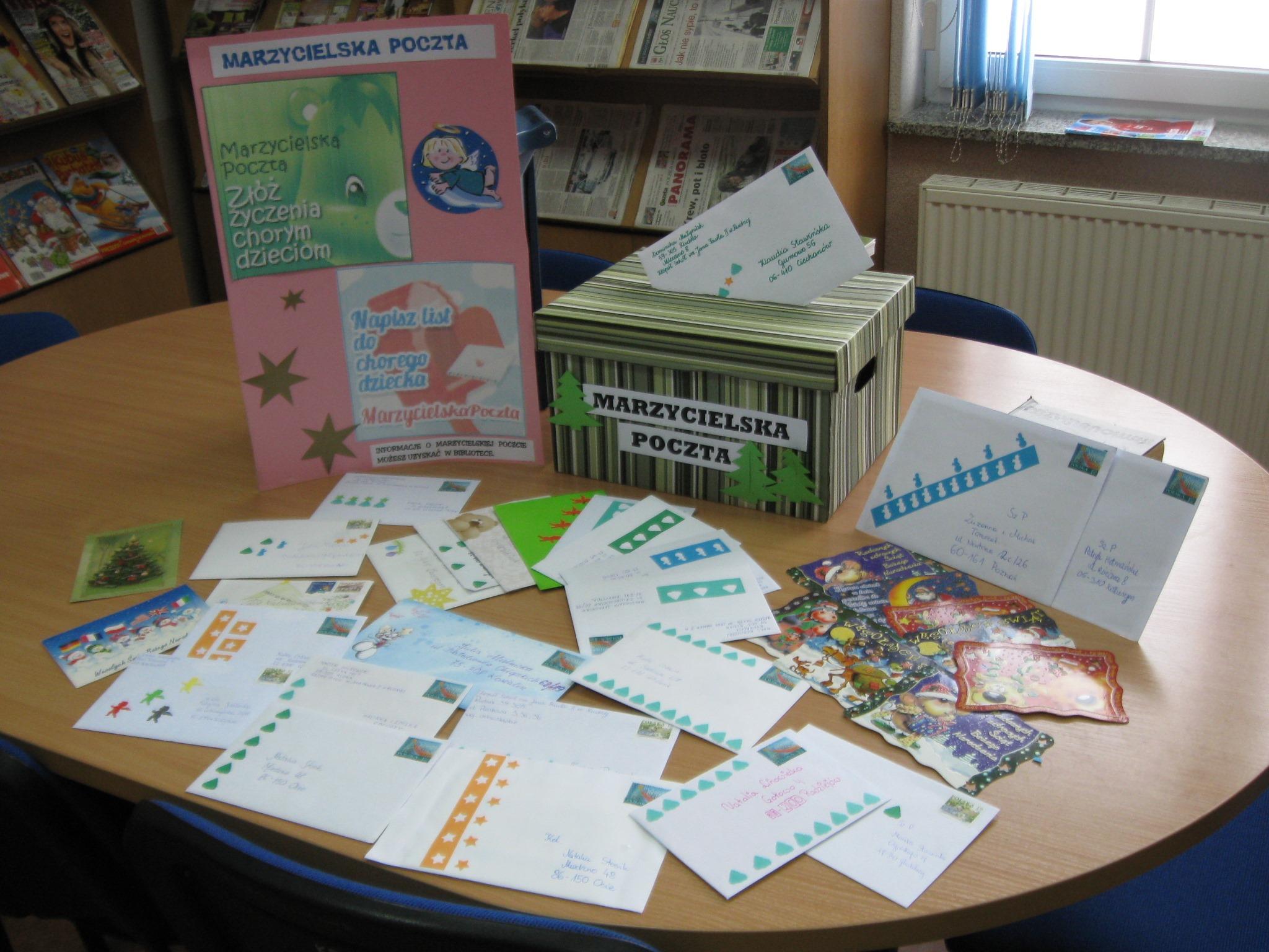Marzycielska Poczta to ogólnopolska akcja dobroczynna, która polega na pisaniu tradycyjnych listów