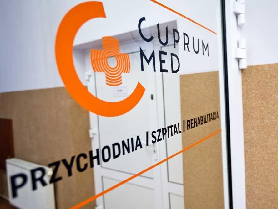 Cuprum med-przychodnia, szpital