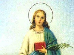 św. Katarzyna - patronka gminy Rudna